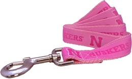 Pink Nebraska Dog Leash